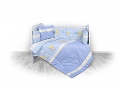 Slika  5-delna posteljnina Little ducks, blue